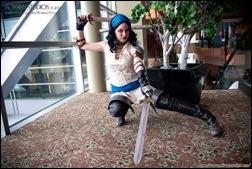 Olivia Ward as Dragon Age Isabela (Photo by Robbins Studios)
