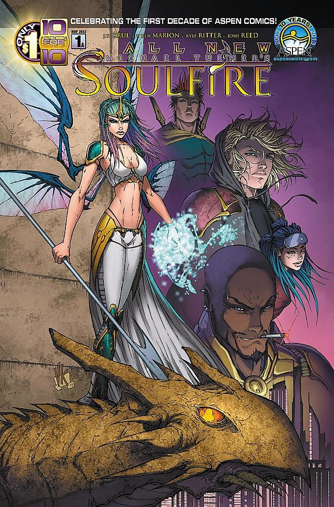 Preview: All New Soulfire #1 by J.T. Krul and V. Ken Morton
