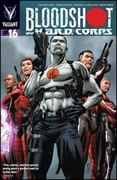 Bloodshot and H.A.R.D. Corps #16 Cover - Zircher