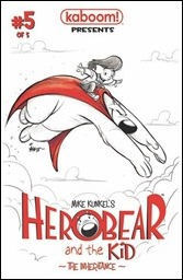 Herobear And The Kid #5: The Inheritance Cover