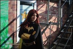 Olivia Ward as Batgirl (Photo by JJAB Productions)