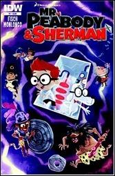 Mr. Peabody & Sherman #1 Cover