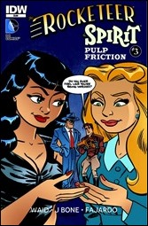 The Rocketeer/The Spirit: Pulp Friction! #3 Cover