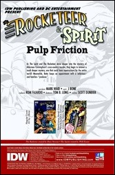 The Rocketeer/The Spirit: Pulp Friction! #3 Preview 1