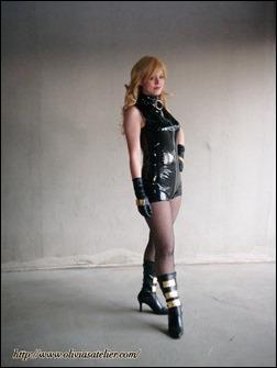 Olivia Ward as Black Canary (Photo by Meg)