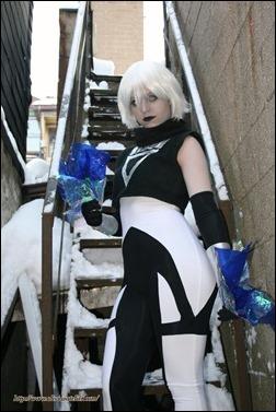 Olivia Ward as Black Lantern Ice (Photo by Xandro Studio)