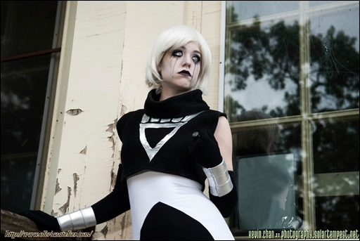 Olivia Ward as Black Lantern Ice (Photo by Kevin Chan/SolarTempest)