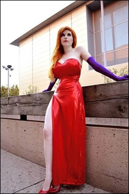Lossien as Jessica Rabbit (Photo by Everage Studios Photography)