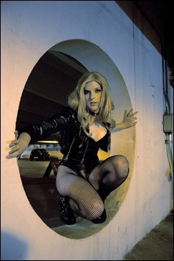 Lossien as Black Canary (Photo by Suddenly Sam)