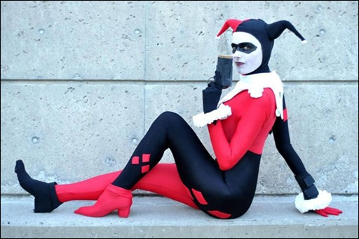 Lossien as Harley Quinn (Photo by Amaleigh Photography)