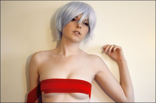 Lossien as Rei from Neon Genesis Evangelion (Photo by Sarah Hoyland)