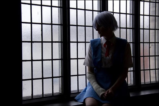 Lossien as Rei Ayanami (Photo by Merc Media)