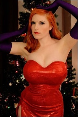 Lossien as Jessica Rabbit (Photo by Sarah Hoyland)