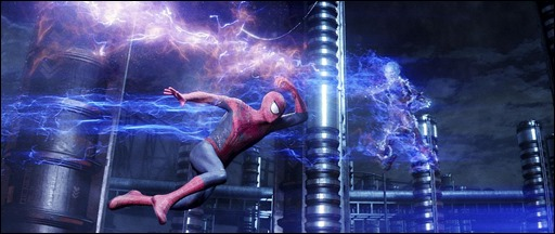 """Andrew Garfield stars as Spider-Man in Columbia Pictures' """"The Amazing Spider-Man,"""" also starring Emma Stone. Courtesy of Columbia Pictures/Sony Pictures Imageworks. ©2013 CTMG. All Rights Reserved."""