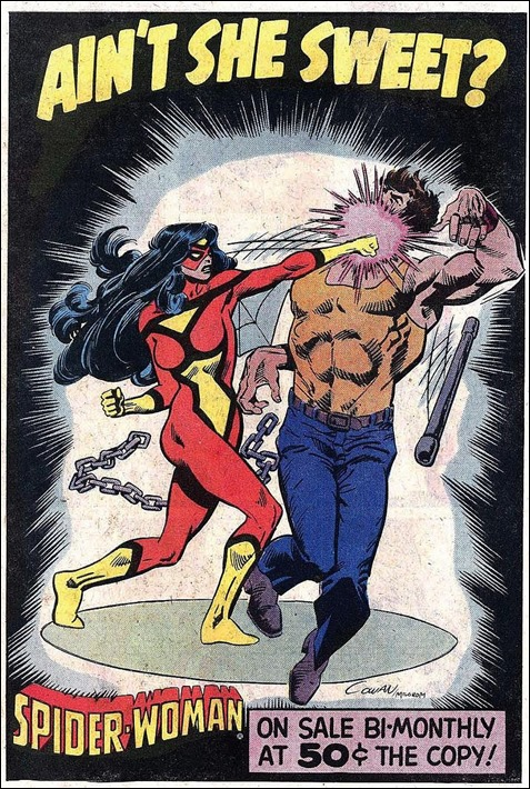 Spider-Woman ad from 1981