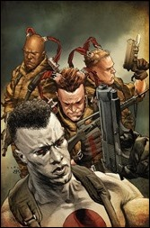 Bloodshot and H.A.R.D. Corps: H.A.R.D. Corps #0 LaRosa Variant Cover