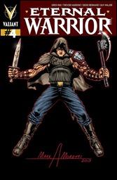 Eternal Warrior #4 Cover - Mark Moretti Signature Series