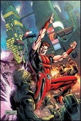 Magnus: Robot Fighter #1 Cover - Bennett