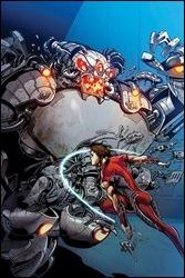 Magnus: Robot Fighter #1 Cover - Castro