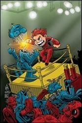 Magnus: Robot Fighter #1 Cover - Haeser