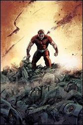 Magnus: Robot Fighter #1 Cover - Hardman