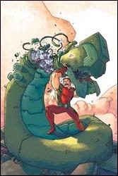Magnus: Robot Fighter #1 Cover - Wegener