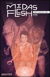 The Midas Flesh #1 Cover