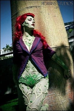 Abby Dark Star as Arkham Asylum Poison Ivy (Photo by Robbins Studios Photography and Fine Art)
