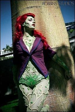 Abby Dark Star as Arkham Asylum Poison Ivy (Photo by Robbins Studios Photography and Fine Art)