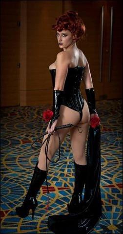Abby Dark Star as The Black Queen (Jean Grey) (Photo by Darrell Ardita)