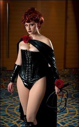 Abby Dark Star as The Black Queen (Jean Grey) (Photo by Darrell Ardita)