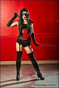 Liana Richardson as female Nightwing (Photo by GeneralGau's Kitchen)