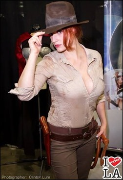 Abby Dark Star as Indy Jones (Photo by Irockedla.com)