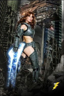 Abby Dark Star as Jane 117 - Master Chief (Photo by SGH PhotoArt)
