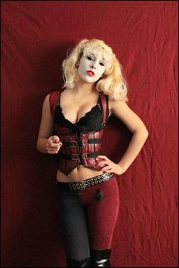 Liana Richardson as Arkham City Harley Quinn