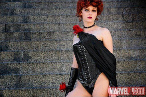 Abby Dark Star as The Black Queen (Jean Grey) (Photo by Judy Stephens)