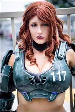 Abby Dark Star as Jane 117 - Master Chief (Photo by LJinto)
