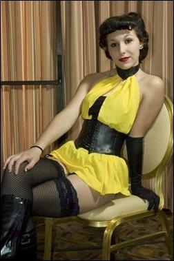 Liana Richardson as Sally Jupiter, Silk Spectre I