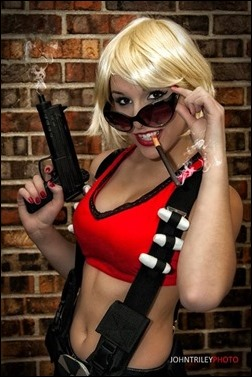Liana Richardson as Fem Duke Nukem (Photo by John T. Riley)