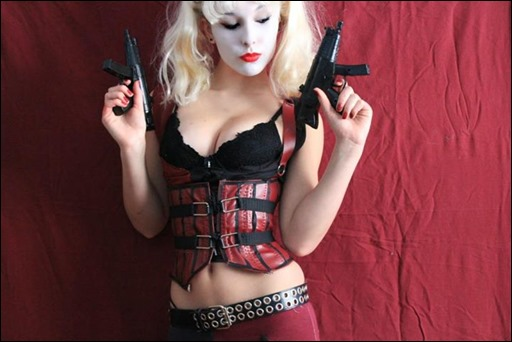 Liana Richardson as Arkham City Harley Quinn