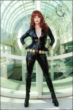 Abby Dark Star as Black Widow (Photo by Kevin Green)