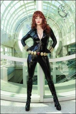 Abby Dark Star as Black Widow (Photo by Kevin Green)