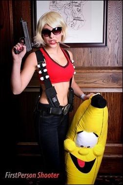 Liana Richardson as Fem Duke Nukem (Photo by FirstPerson Shooter)