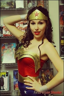 Liana Richardson as Wonder Woman (Photo by FirstPerson Shooter)