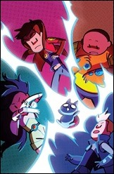 Bravest Warriors 2014 Annual #1 Cover C