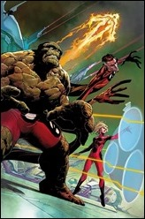 Fantastic Four #1 Cover - Opena Variant