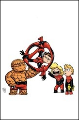 Fantastic Four #1 Cover - Young Variant