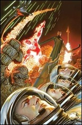 Fantastic Four #1 Cover - Alex Ross 75th Anniversary Variant