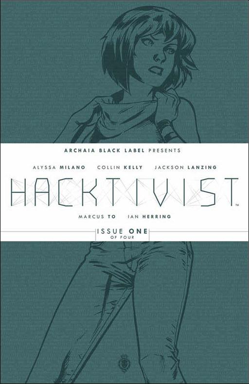 Hacktivist #1 Cover