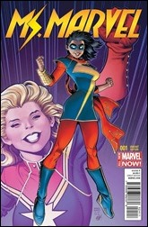 Ms. Marvel #1 Cover - Adams Variant
